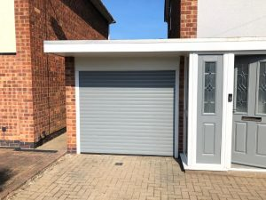 Garage door grey
